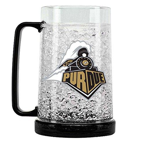 NCAA Purdue Boilermakers 16oz Crystal Freezer Mug