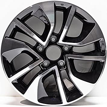 Honda Rims For Sale >> New 16 Inch Alloy Wheel Rim Compatible With 2004 2016 Honda Civic One Piece 16 Inch X 6 5 Inch Hub Bore 64 1 Bolt Pattern 5 X 114 3 Offset 45