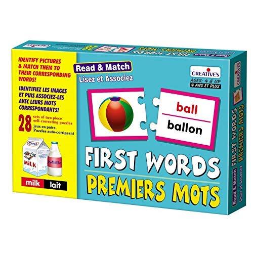 StonKraft First Words (フランス語) | Learn French | Learning Games | Educational Games & Toys | マッチングゲーム 子供と幼児用   B07NRZSWFJ