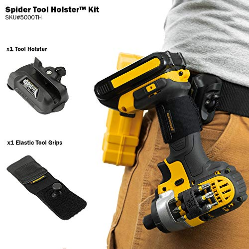 Spider Tool Holster Set - Improve the way you carry and organize tools on your belt