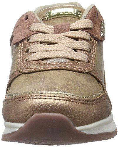 Geox J Maisie Girl B, Zapatillas Para Niñas Beige (DK SKINC8191)