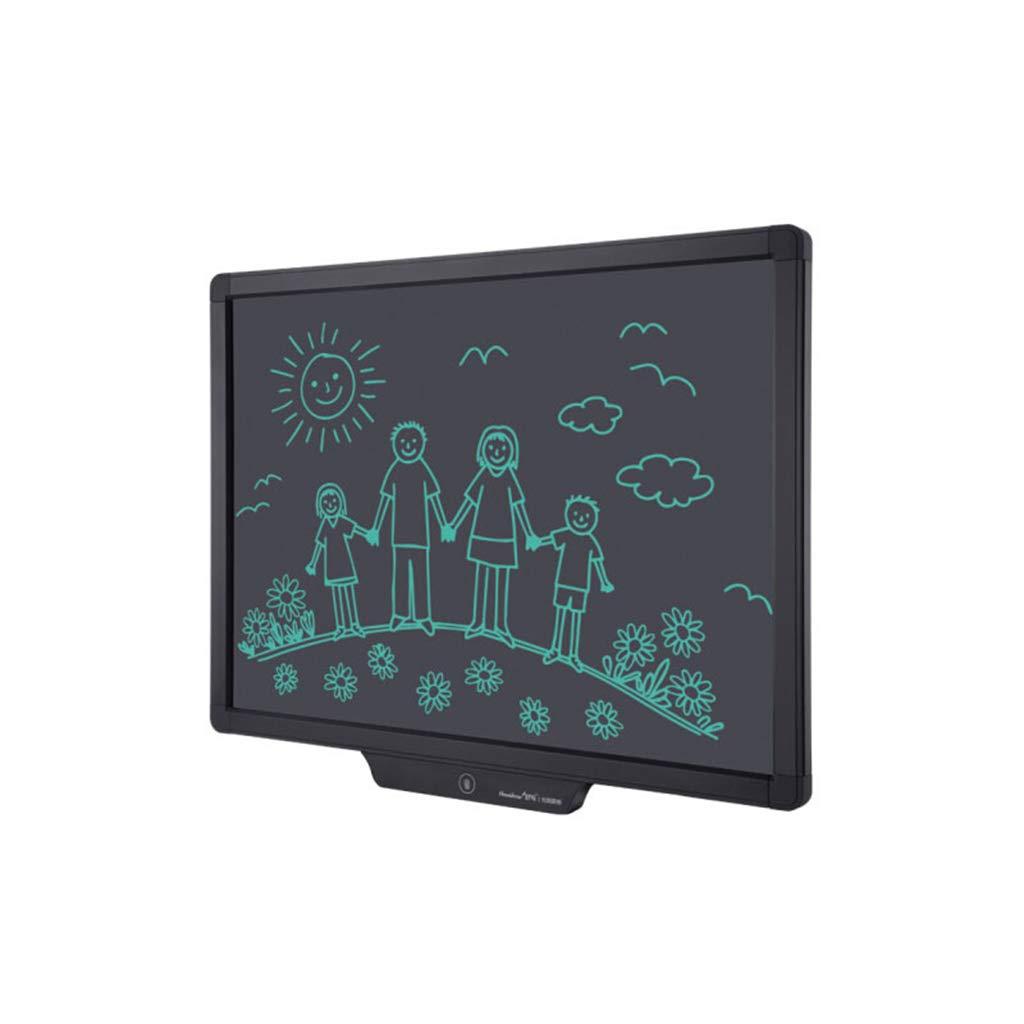 20 pulgadas LCD LCD LCD Tableta de escritorio con la pantalla de bloqueo y Stylus- dibujo electrónico portátil tablero de escritura del Doodle de ratón para los niños, blakc oficina de dibujo electrónico gr  productos creativos