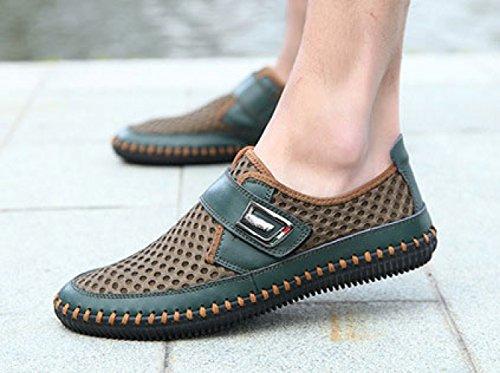 Été Couleur Véritable Respirant Shoes Eye Chaussures en Mesh Décontractée 355 Green MSM4 Légère Correspondant Cuir dCaCw