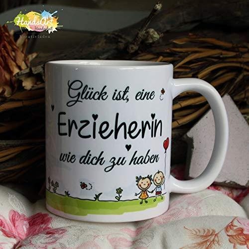 Kaffeebecher ~ Tasse   Glück ist eine Erzieherin wie dich zu haben