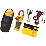 Fluke 324 40/400A AC, 600V AC/DC True-RMS Clamp Meter with Temperature, & Capacitance Measurements