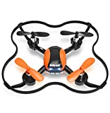 Mini Drone OCDAY U839 2.4GHz 4 Channels 6-Axis Gyro RC Quadcopter, Remote Control Starter Training Drone with H/L Speed Modes for Drone Beginners