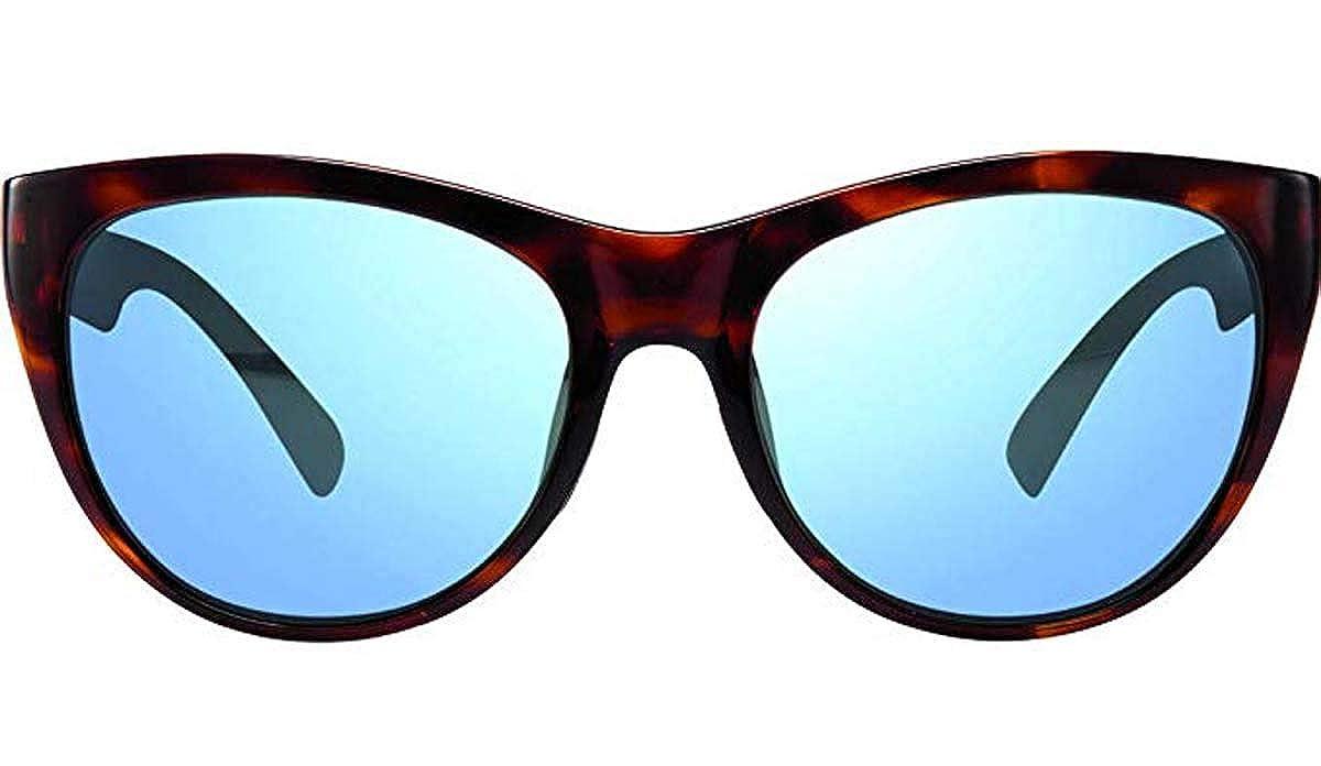 Revo Barclay Cat Eye Sunglasses Polarized Cateye Tortoise 54 mm