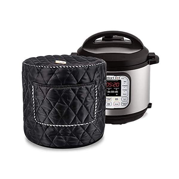 6QT/8QT Electric Pressure Cookers Decorative Pocket Electric Pressure Pot Dust Cover Small Kitchen Appliances… 1