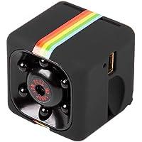 KKmoon Mini Macchina Fotografica per Auto 1080P Full HD Telecamera Nascosta DVR Registratore DV Videocamera per Visione Notturna, Nero