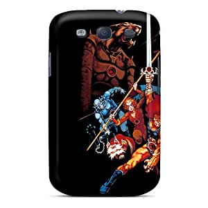 Samsung Galaxy S3 Jfk8734lCka Allow Personal Design Realistic Thundercats Skin Scratch Protection Hard Phone Cases -ColtonMorrill