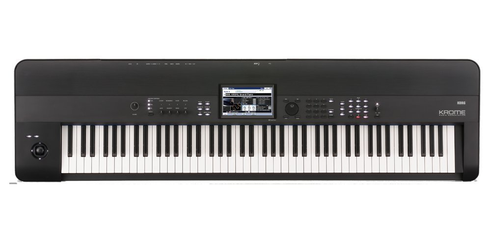 Korg KROME 88-Key Music Workstation Keyboard & Synthesizer(Certified Refurbished)