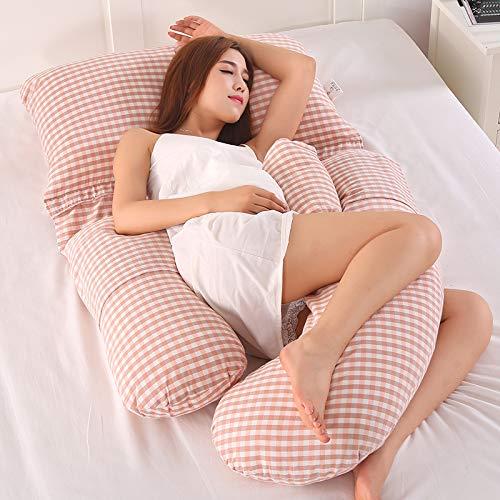 AEIL - Almohada en Forma de G para Embarazada, para Dormir Lateral, Desmontable, Multifuncional, Apoyo de Cintura, silencioso y cómodo, ergonómico, ...