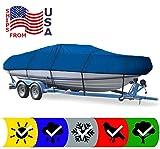 SBU Blue Boat Cover for Crownline 196 BOWRIDER