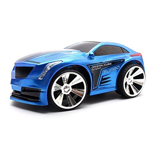 DeXop Voice Control Car Play RC Vehicle for Kids Voice-activated Voice Remote Control Car-Blue (Blue Ninja Turtle Name)