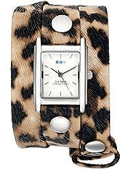 La Mer Collections Womens Quartz Silver-Tone Casual WatchMulti Color (Model: WANDERLUST00003)