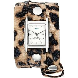 La Mer Collections Women's Quartz Silver-Tone Casual watchMulti Color (Model: WANDERLUST00003)