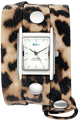 La Mer Collections Women's Quartz Silver-Tone Casual WatchMulti Color (Model: WANDERLUST00003)