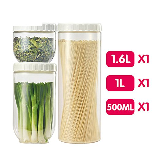 With Mouth Airtight Box  Lidded  Dry Storage Box Snack Grains Moisture Proof Sealing Tank I