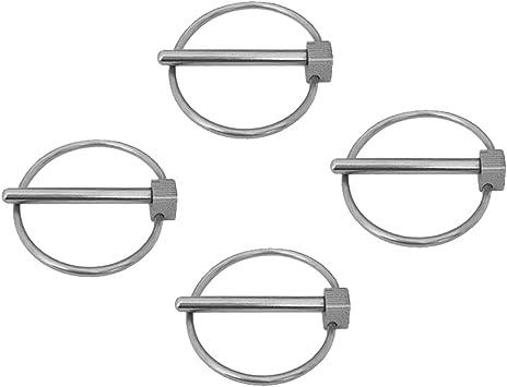 4x goupilles de Lynch d/'acier inoxydable goupilles de remorque d/'acier