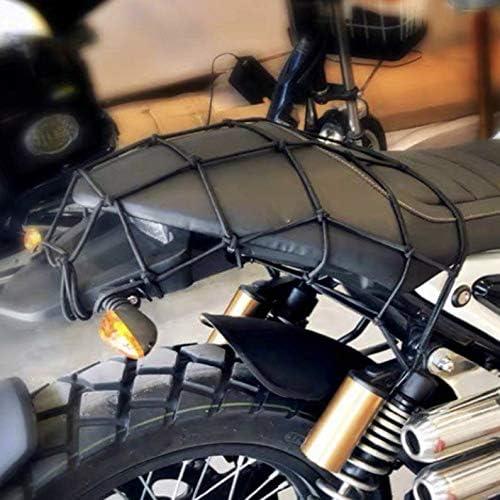 frYukiko Casque de Moto Poche Filet Corde /élastique Moto pi/èces modifi/ées Filet de r/éservoir de Carburant Filet lat/éral /à Trois brins