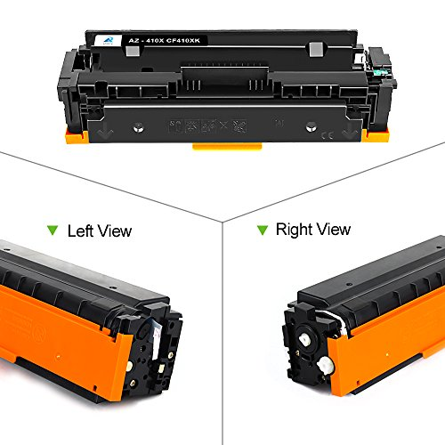3pk CF410X Color Toner Cartridge For HP 410X LaserJet M452dn M452dw M477fnw MFP