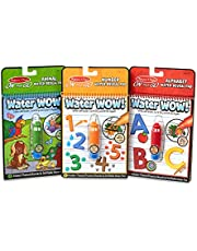 Melissa & Doug On The Go Water Wow! 3-Pack (The Original Reusable Coloring Books - Animals, Alphabet, Numbers - Great Gift for Girls and Boys - Best for 3, 4, and 5 Year Olds)