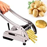 Stainless Steel French Fry Potato Chipper Professional Grade Vegetable Cutting Machine Cutter Cucumber Slice tool Kitchen Machine Cucumber Slice tool Kitchen Gadgets Cutter