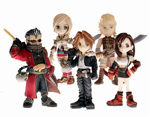 Final Fantasy Trading Arts Mini Vol. 2 Action Figure Set (Tifa, Squall, Auron, & Ashe)