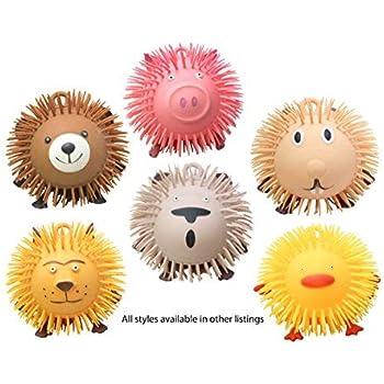 "Amazon.com: Curious Minds Busy Bags Animal Jumbo 9"" Puffer"