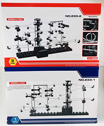 (YESY Spacewarp Level 1 and 2 Gift Set Marble Coaster Construction Set)