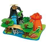 Bigjigs Toys JT110 Heritage Playset Dino Island, Baby & Kids Zone