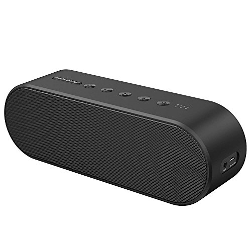 Bluetooth Speaker, Wireless Bluetooth 4.2 Portable Speakers with Built-in Mic, Louder Volume 20W Power, More Bass, for Home Travel Camping Biking