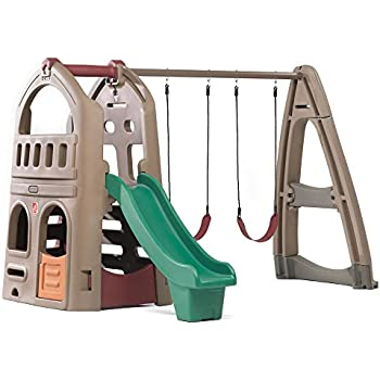 4ac3dd482dcb Step2 Naturally Playful Playhouse Climber   Swing Set Extension