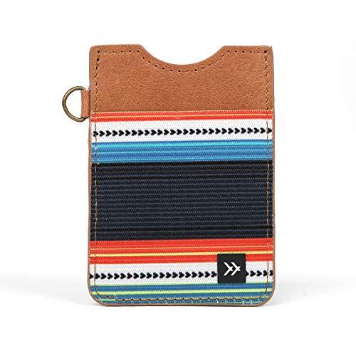 Thread Wallets - Slim Minimalist Wallet - Vertical Card Holder (Midnight)