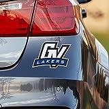 #10: Nudge Printing Grand Valley State University GVSU Lakers GV Car Window Decal Bumper Sticker Emblem Laptop Sticker