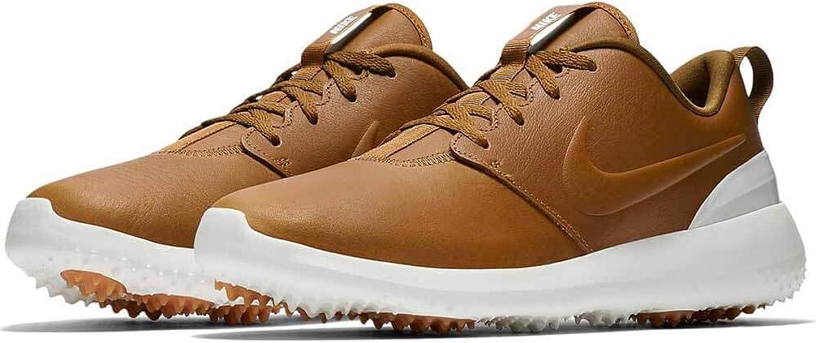 Nike Men S Roshe G Tour Golf Shoes Brown Marron 200 9 5 Uk Amazon Co Uk Shoes Bags