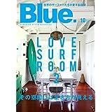 Blue. 2017年10月号 小さい表紙画像
