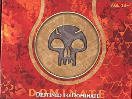 Magic the Gathering MTG – Born of the Gods Pre Release Pack – Destined to Dominate BLACK