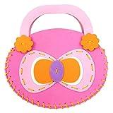 Kids DIY Handbags Handmade Sewing Craft Kids Cartoon Toys Creative Gifts