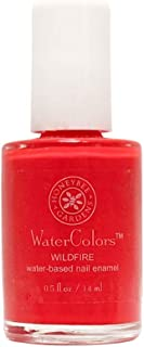 product image for Honeybee Gardens Watercolors Nail Enamel Wildfire | Non Toxic | Water-Based | Earth Friendly