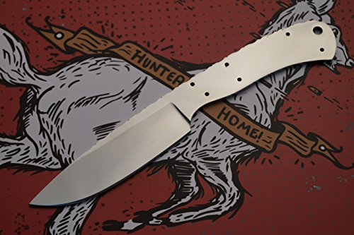 BucknBear Custom Handmade 440C Stainless Steel Blank Blade for Knife Making