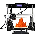 KKmoon Anet A8 High Precision Desktop 3D Printer Kits Reprap Prusa i3 DIY Self Assembly with 8GB SD Card Printing Support ABS/PLA/HIP/PP/Wood Filament