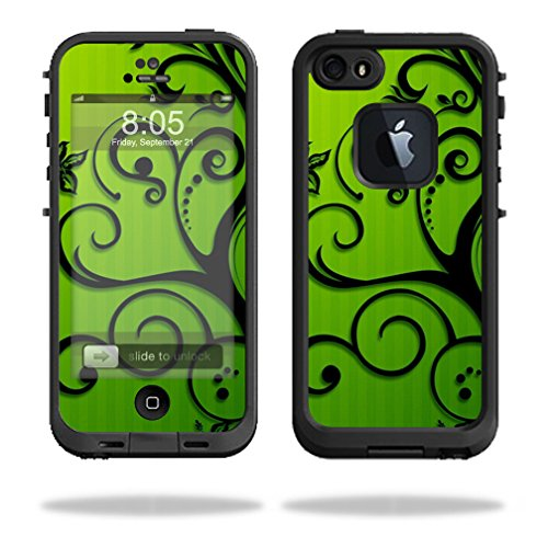 Mightyskins Protective Vinyl Skin Decal Cover for LifeProof iPhone 5/5s/SE Case fre Case wrap sticker skins Floral Flourish