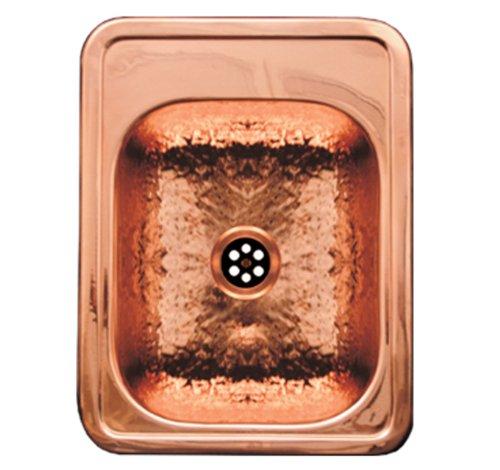 Rectangular Copper Bar Sink - 9