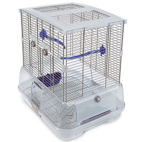 Durable mediano de jaula de pájaros - Doble Altura para Budgies ...