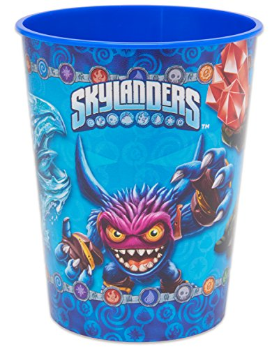 [American Greetings Skylanders 16 oz Plastic Party Cup] (Gill Grunt Costumes)