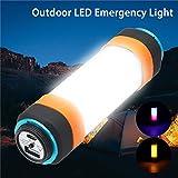 icase4u Rechargeable LED Camping Lantern 6 Modes...