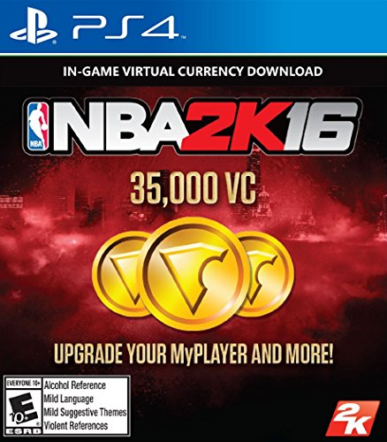 NBA 2K16 - 35000 VC - PS4 [Digital Code]
