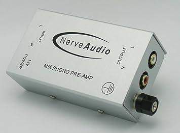 Valor de PH de audio 1.1 Phono preamplificador (plata ...