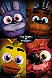 5 Nights At Freddy's - Gaming Poster / Print (Character Grid) (Size: 24'' x 36'') (Poster & Poster Strip Set) (By POSTER STOP ONLINE)